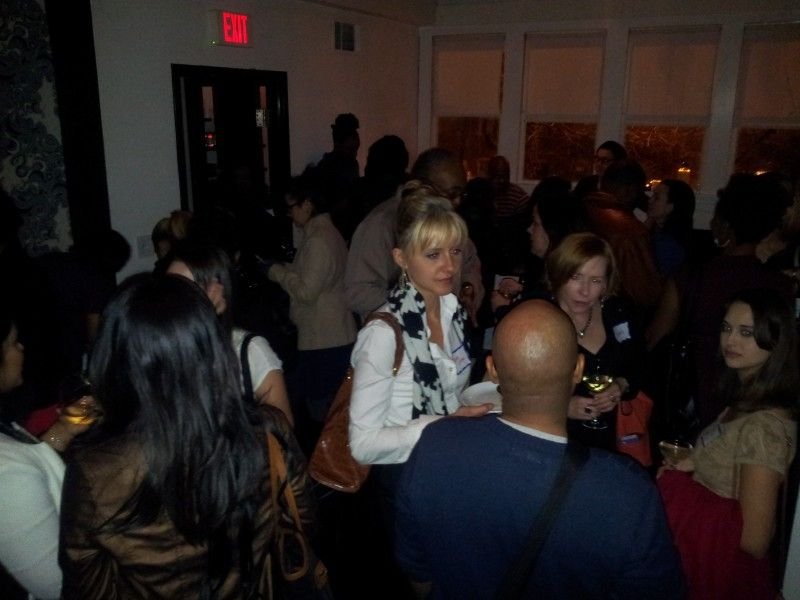 Film & TV pros mix it up at WIFTA's January 2014 networking event in Atlanta