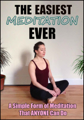 """The Easiest Meditation Ever"" gives readers a new way of meditating effectively."