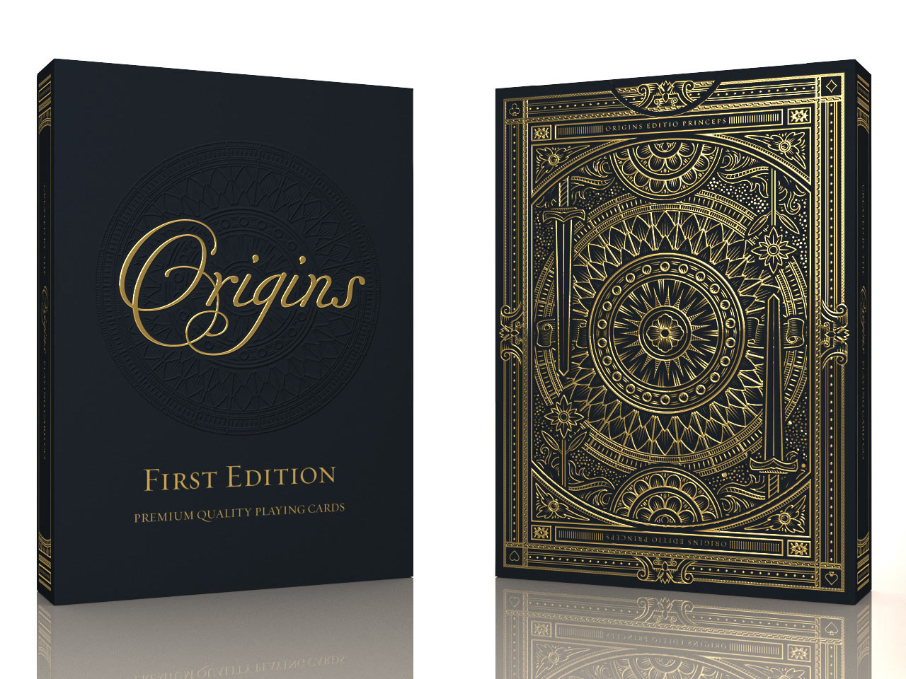 The First Edition Origins