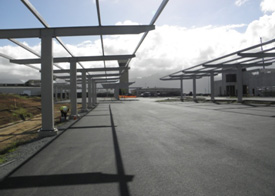 Solar Canopy in Hawaii by Structural Solar LLC