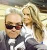 Vanilla Fire on Ice Filming First Outdoor NHL Hockey - Dodgers Stadium Jan 2014