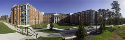Virginia State University Gateway II Residence Hall. ©Richard Boyd