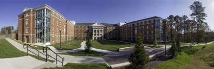 Virginia State University Gateway II Residence Hall. ©Richard Boyd