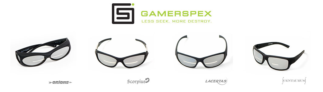 Gamerspex Video Gaming Glasses Come In 4 Styles