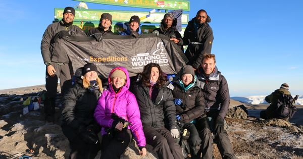 WWTW 2013 Kilimanjaro Challenge at Summit