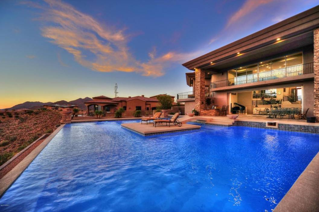 Scottsdale arizona silverleaf and dc ranch reo bank owned for Arizona luxury homes