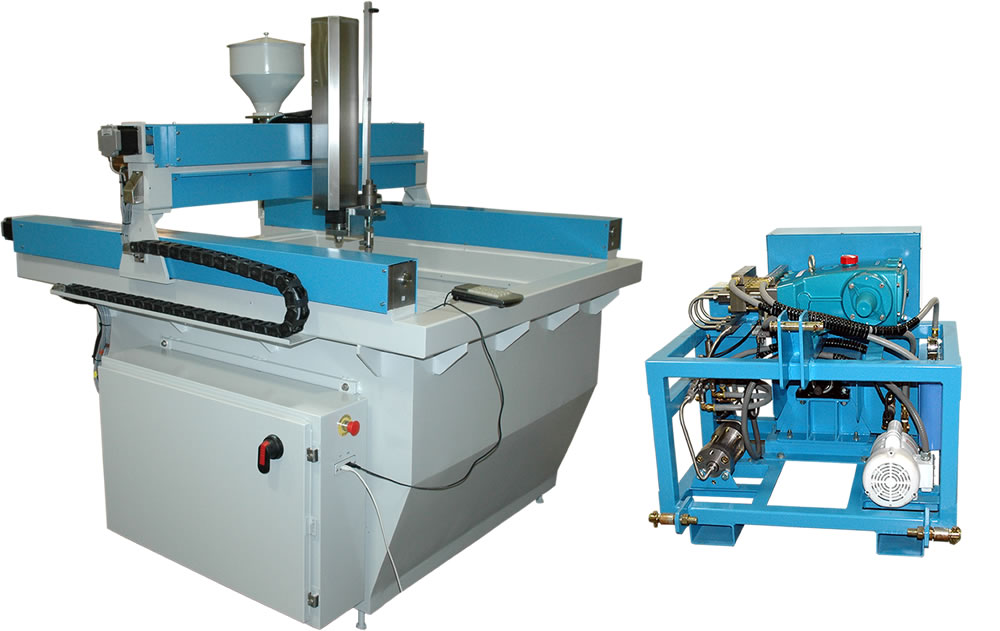 FARM-JET Waterjet Machine for Farm Machine Shops.