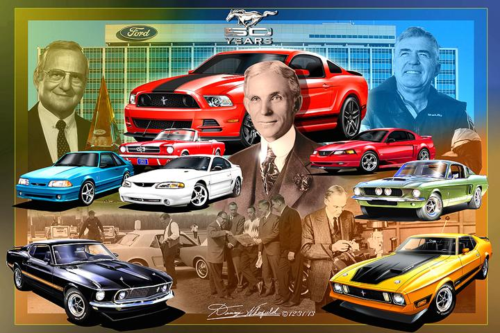THE ORIGINAL PIONEERS OF THE FORD MUSTANG