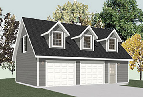 Garage plans with apartments now available at behm design for 2 story garage plans with loft