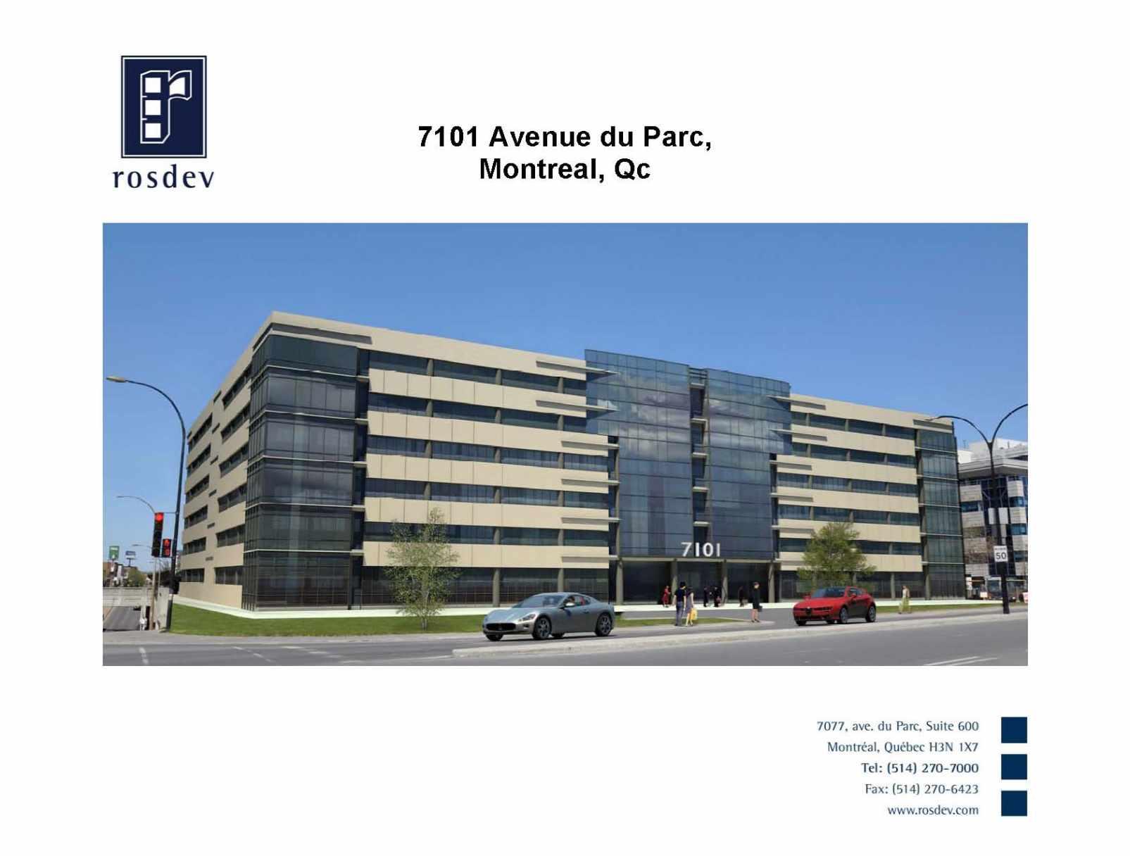 7101 Ave Du Parc