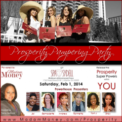 Prosperity Pampering Party at Spa Sydell