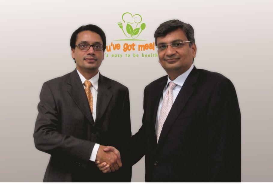 L-R) Ajay D'Almeida along with Ajay Arora