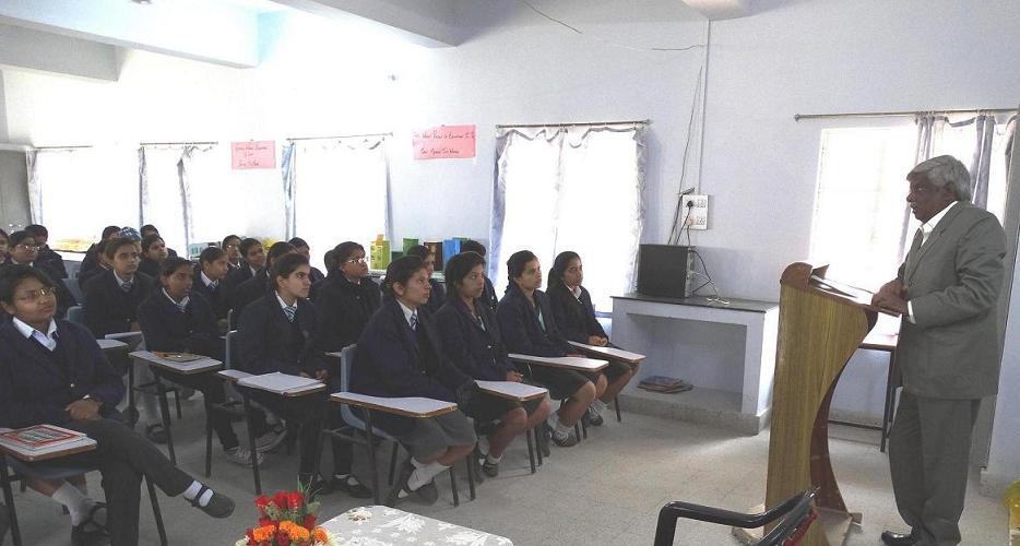 Sangam University Bhilwara VC Talk National Youth Day Birla Shishu Vihar Pilani