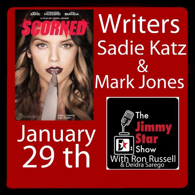 Sadie Katz and Mark  Jones on The Jimmy Star Show