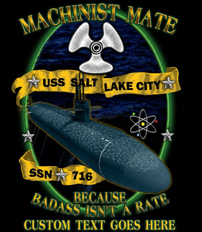 USS Salt Lake City Shirts