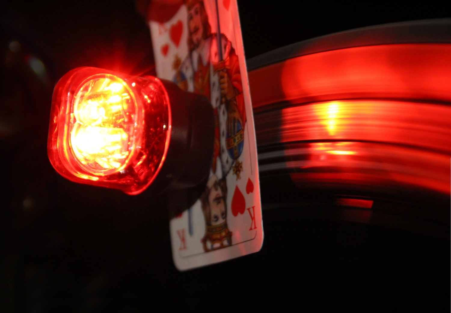 MagnicLight rearlight with card