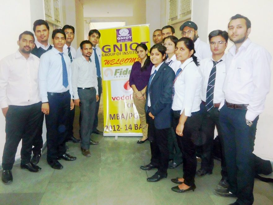 Placement Drive at GNIOT