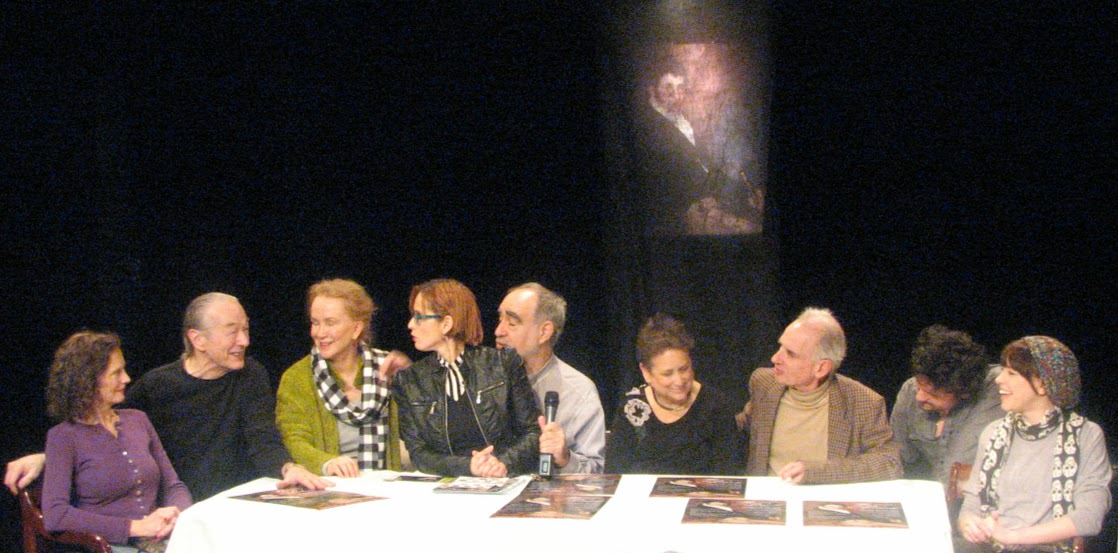 Sissy and the cast & crew of The Portrait