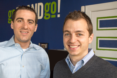 goBRANDgo! Partners Brandon Dempsey and Derek Weber