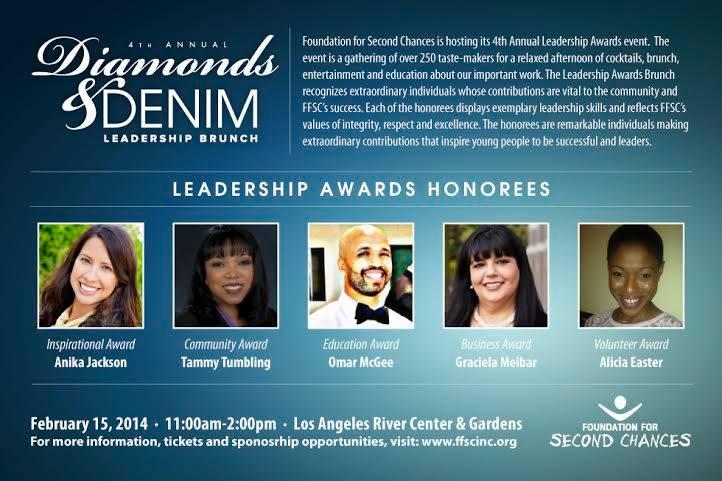 Diamonds and Denim honorees
