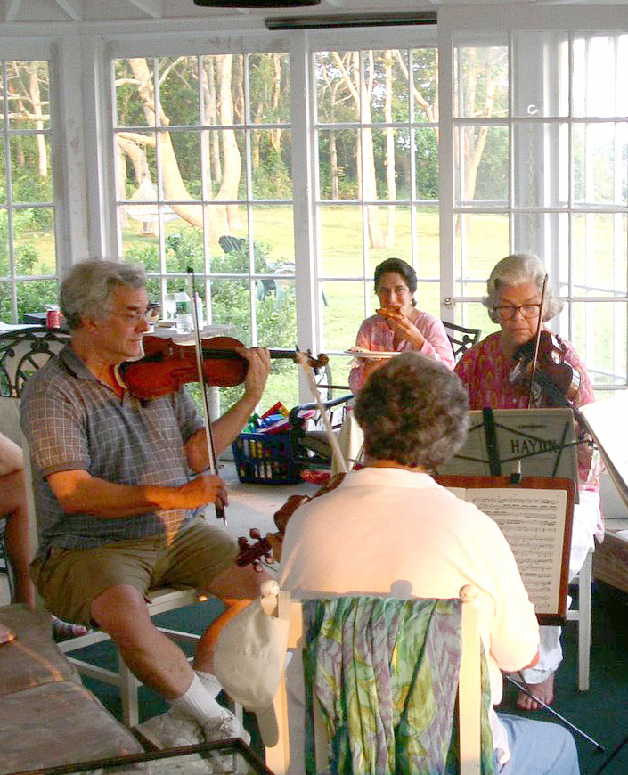 String Quartets on the Sunporch