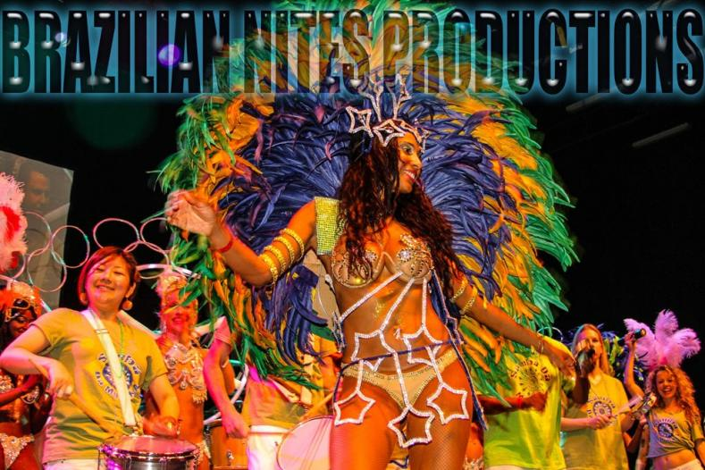 Samba School and Samba Dancer - Thronn Passos