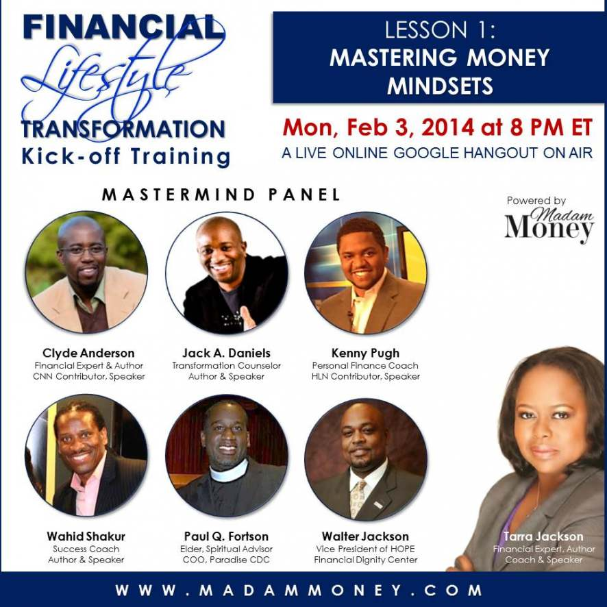 Week 1 Lesson - Mastering Money Mindsets