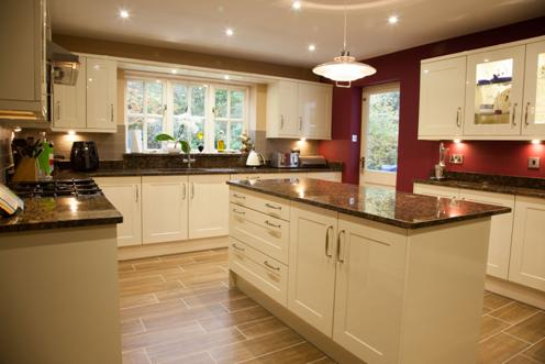An example of a kitchen designed and fitted by Aspire
