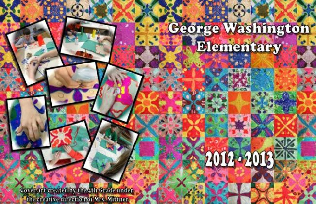 George Washington Elementary Yearbook Cover