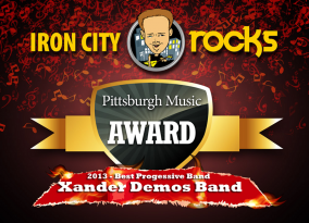 Xander Demos Band - 2013 Iron City Rocks Best Prog Band