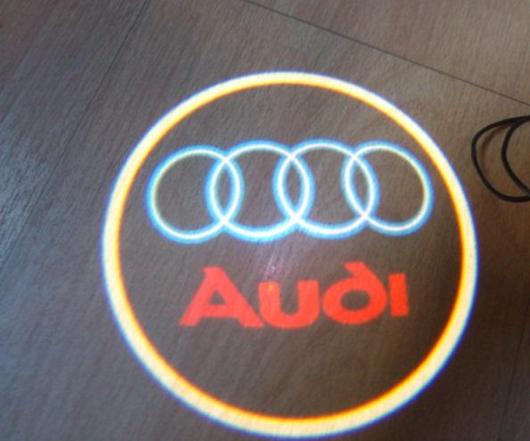 Audi Led Hd Logo Projector Door Lights 2014 Custom Logo