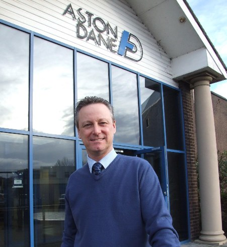 Alan Holloway at the ESF Widnes HQ