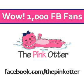 Launched in 2014, The Pink Otter boutique has received 1,000 Facebook fans.