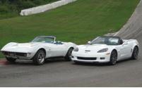 James DeGreve won both of these beautiful 427 Corvette Convertibles.