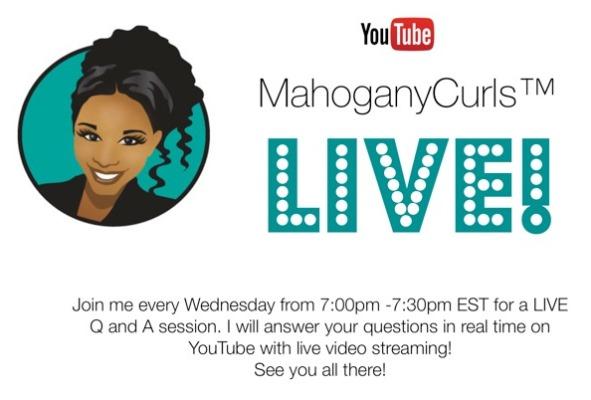 MahoganyCurls™ LIVE!