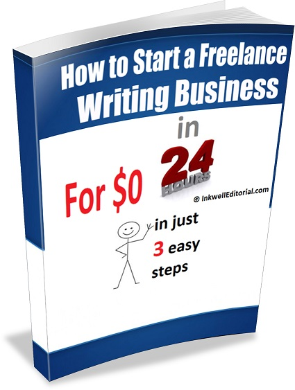 "You can start a freelance writing biz for $0. Details in ""Author"" section below."