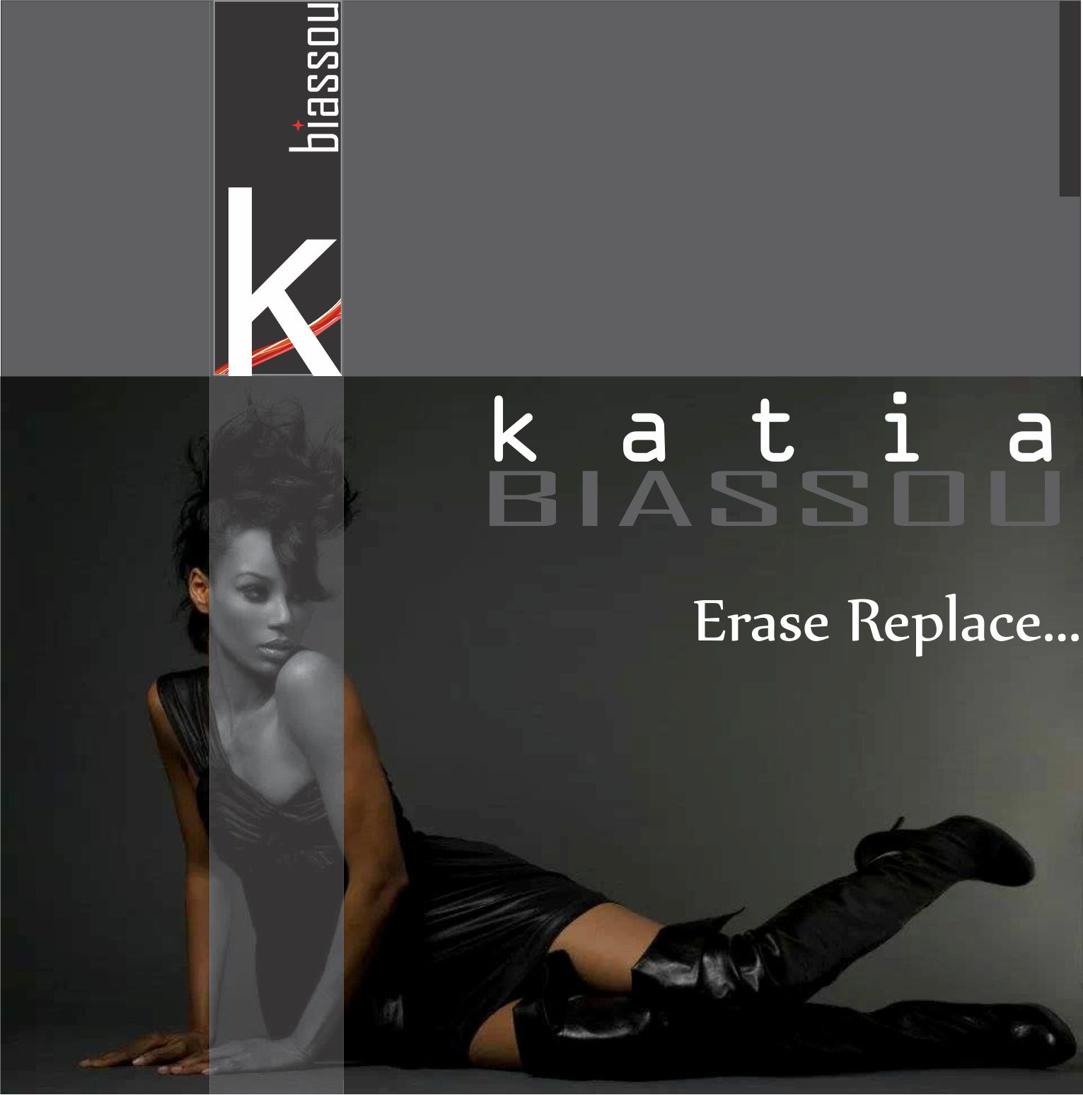 "Katia ""Erase Replace..."" CD Back Cover"