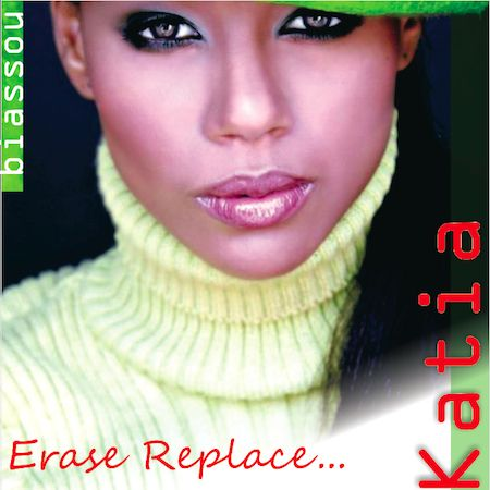 """Katia """"Erase Replace..."""" CD Front Cover 2"""