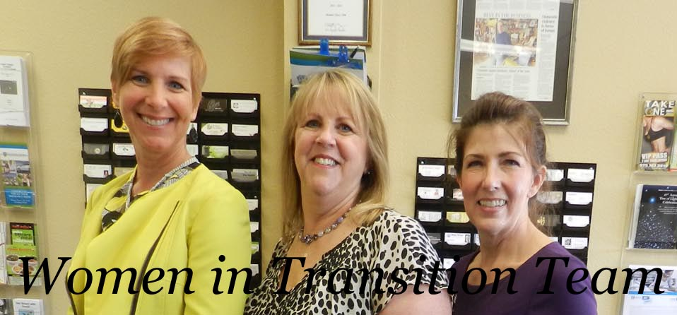 Carolyn Rovner, Sue Bock and Terri Hockett