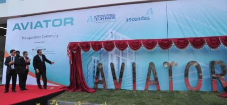 Unveiling of 'Aviator' building at International Tech Park Bangalore