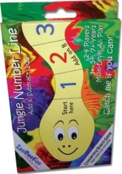 Jungle Number Line board games
