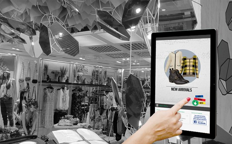 Retail Touch Technology