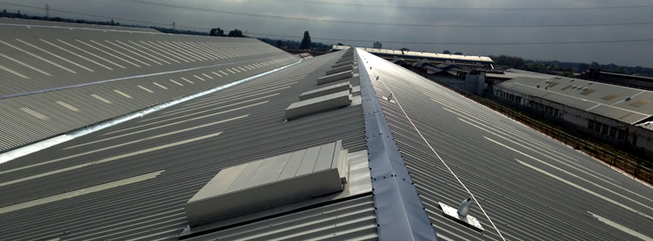 Industrial Roofing Contractors Refurbish Roof On Former Bae Building Manchester Roofing Consultants Ltd Prlog