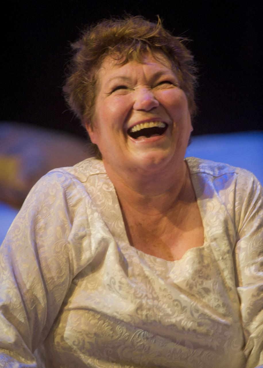 Tina Packer in 'Women of Will' (photo courtesy of Kevin Sprague and Shakes & Co)
