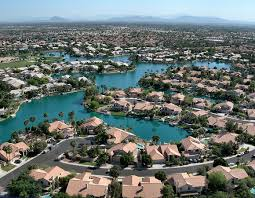 Gilbert Arizona Lake Subdivisions