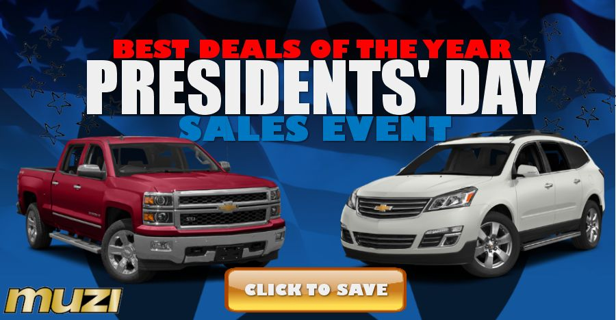 Chevy Presidents Day Sale Boston MA