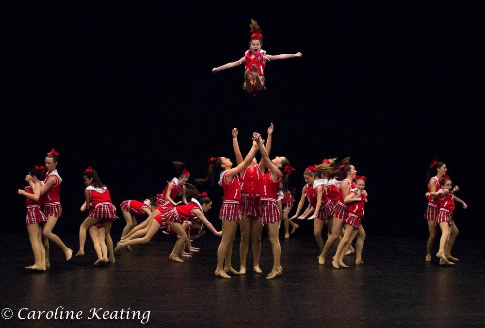 "Kick Dance Studios ""Kick for a Cause"" (Credit: Caroline Keating"