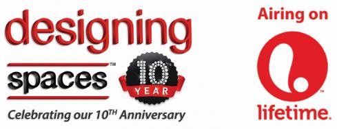 Designing Spaces  on Lifetime Anniversary Logo
