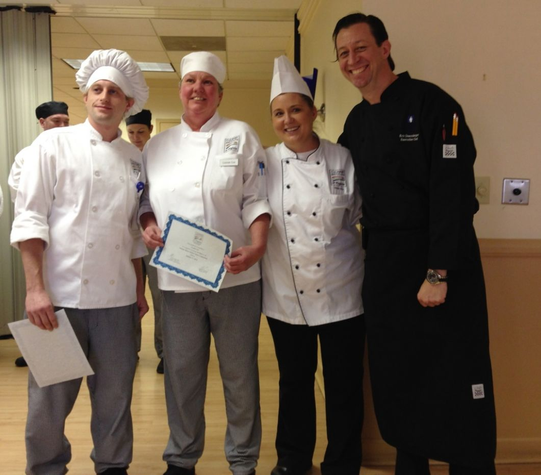 Soup-er Stars winners join Atlantic Shores Executive Chef Eric Doarnberger
