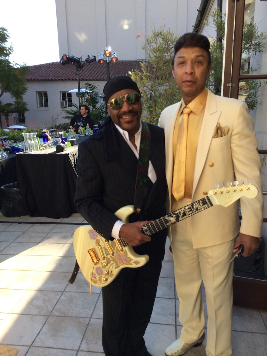 (l-r) Ernie Isley & Chris Jasper